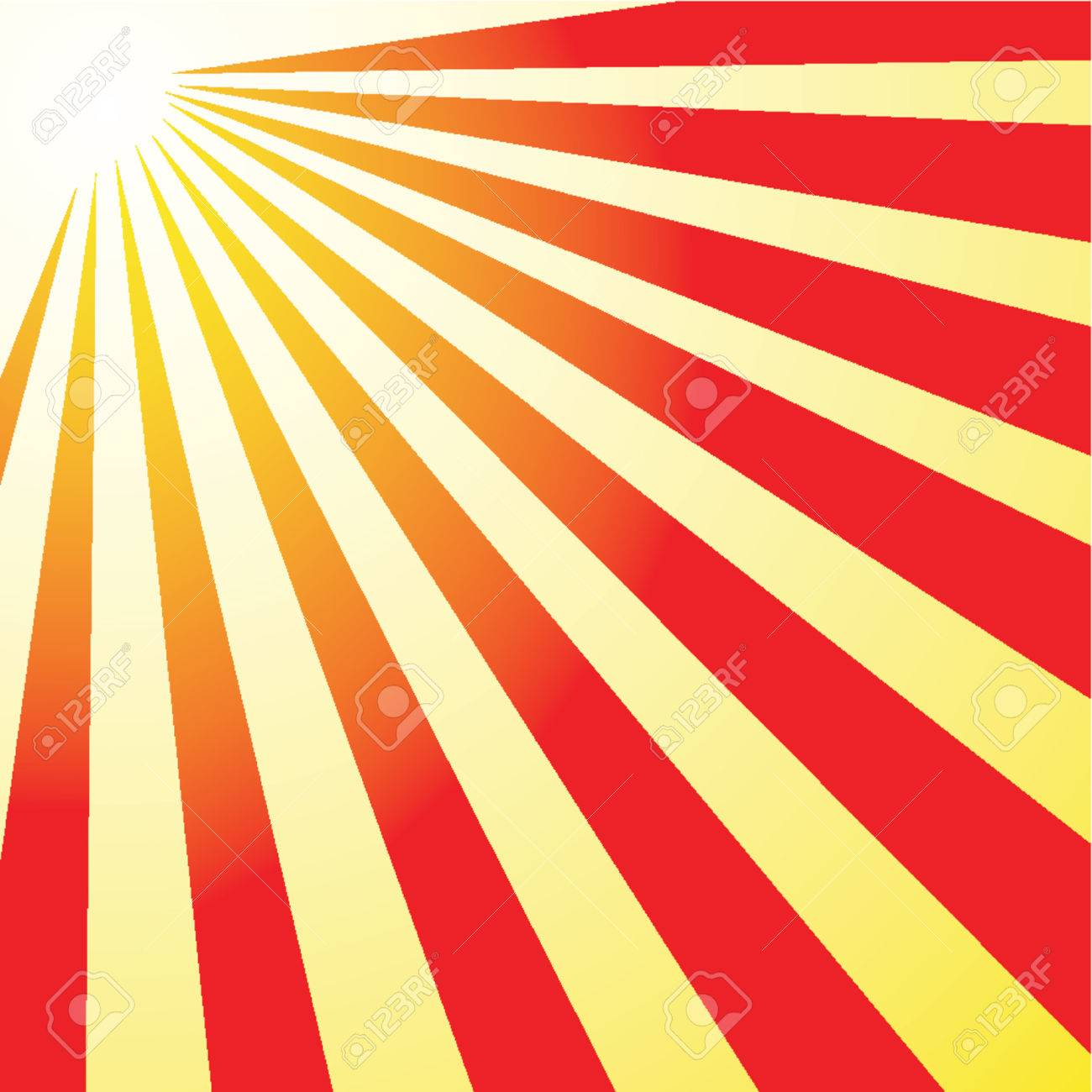 Rising sun Stock Vector - 437241