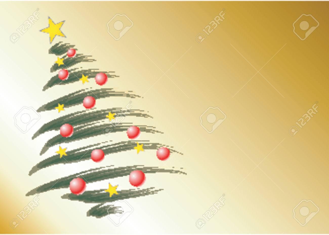 Christmas theme Christmas tree Stock Vector - 568312