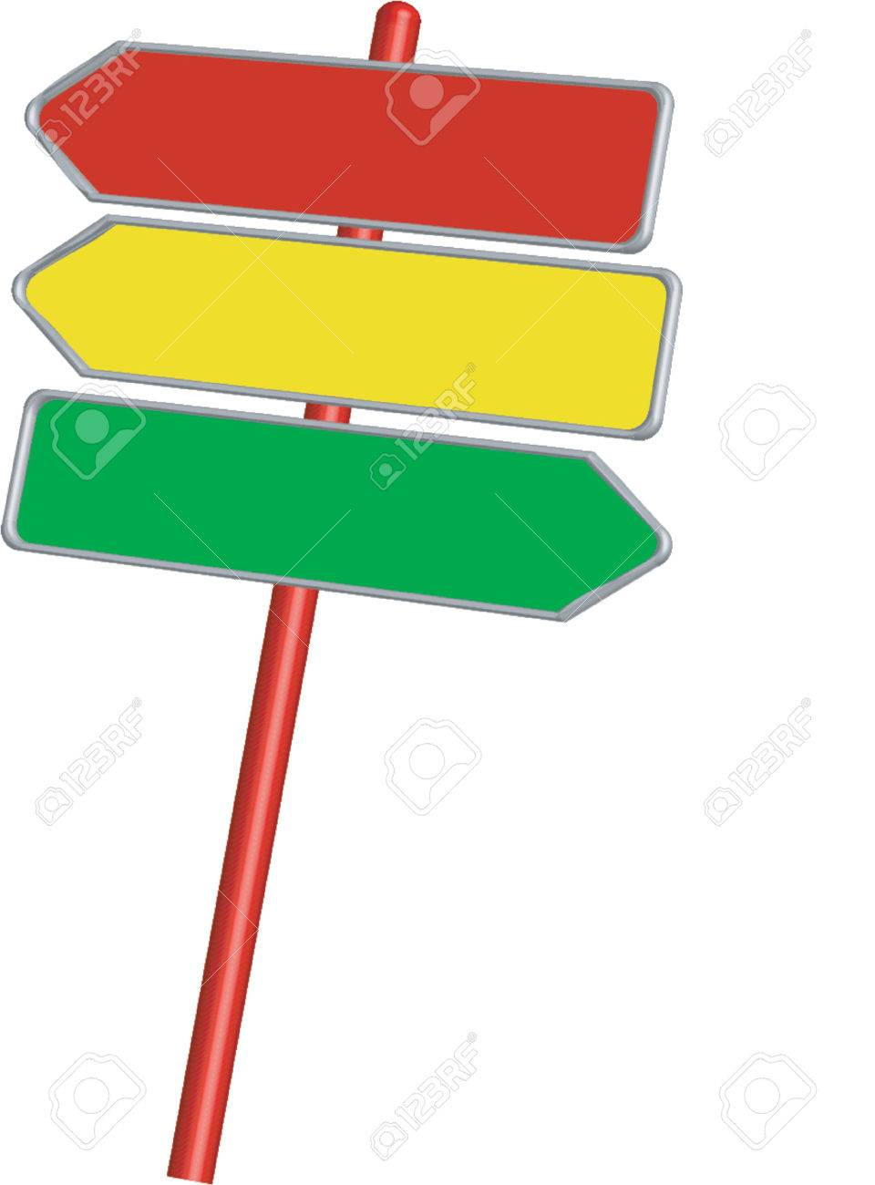 Road signs_Information signs_Direction signs Stock Vector - 623065