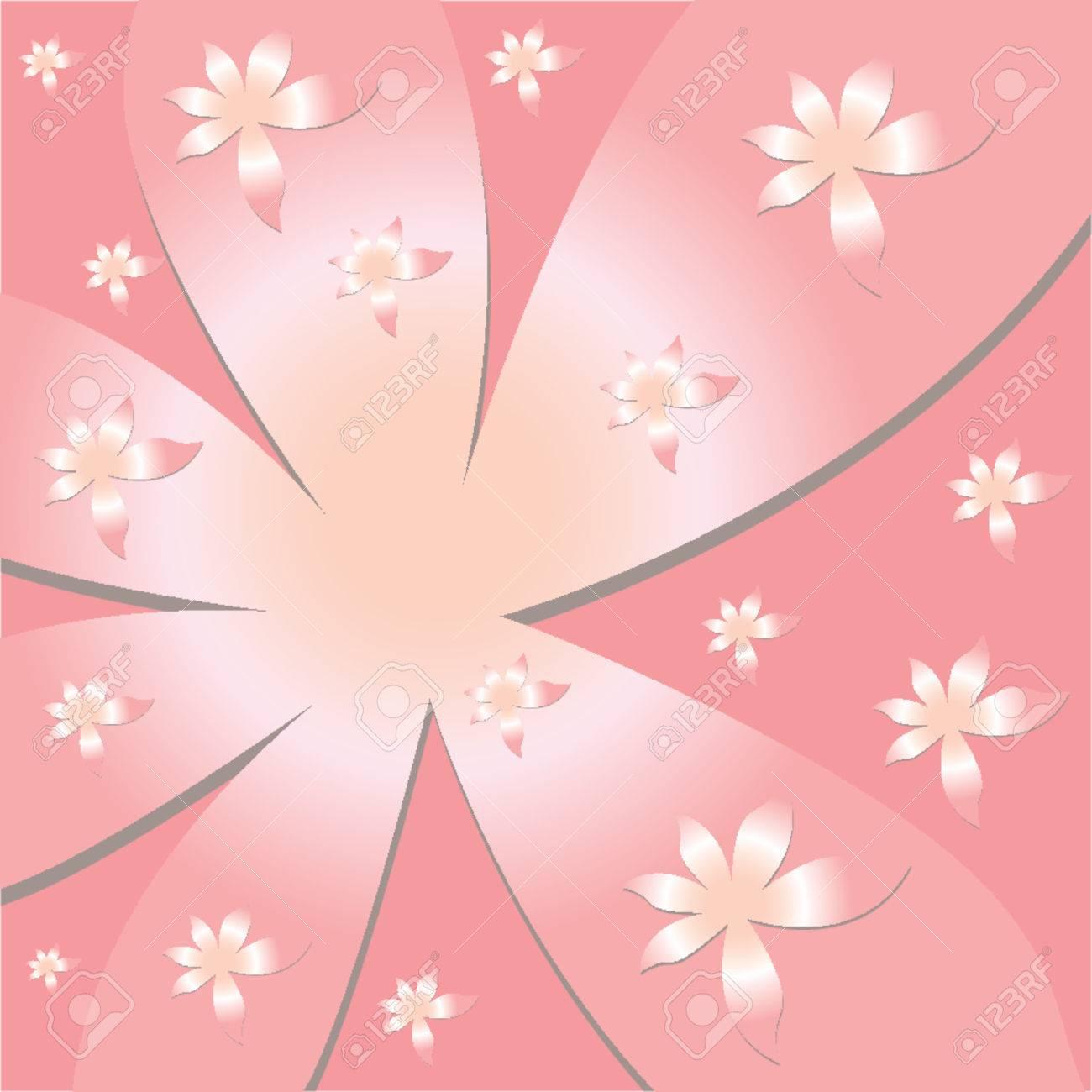 Vectorial flower pattern - Ornamental pattern Stock Vector - 658578