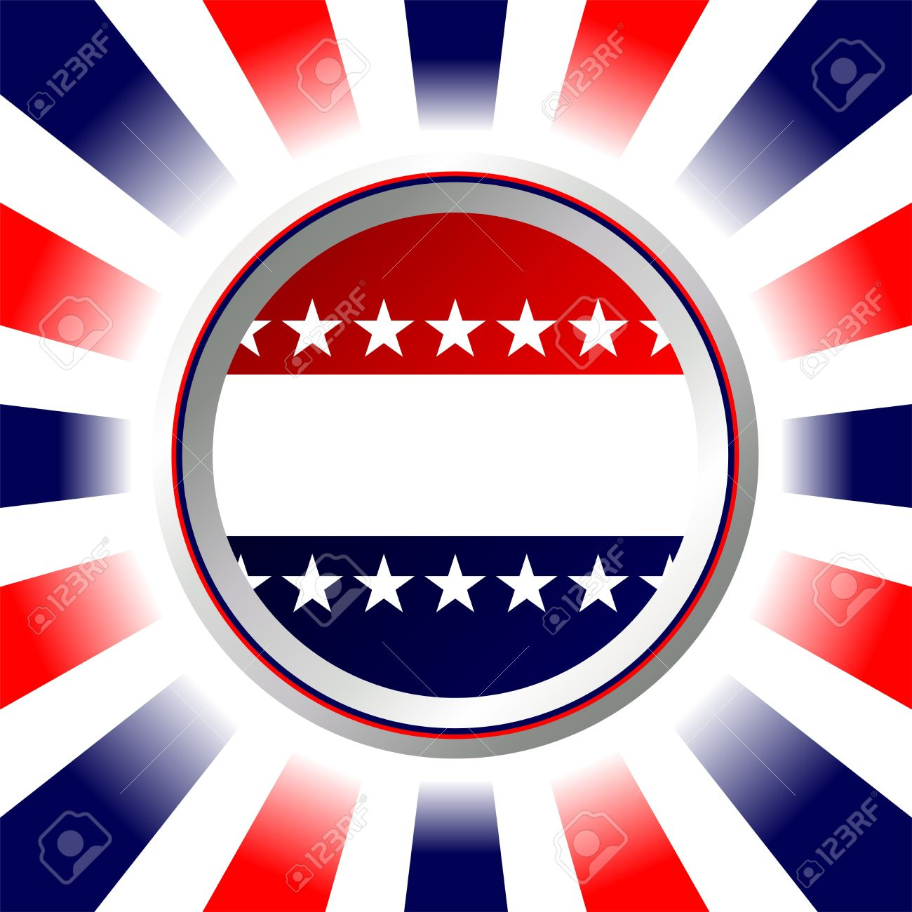 Election Poster Or Fourth Of July Background. United States Colors ...