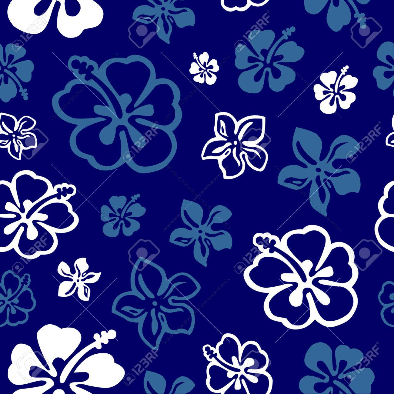 Fleurs hawaïenne Wallpaper