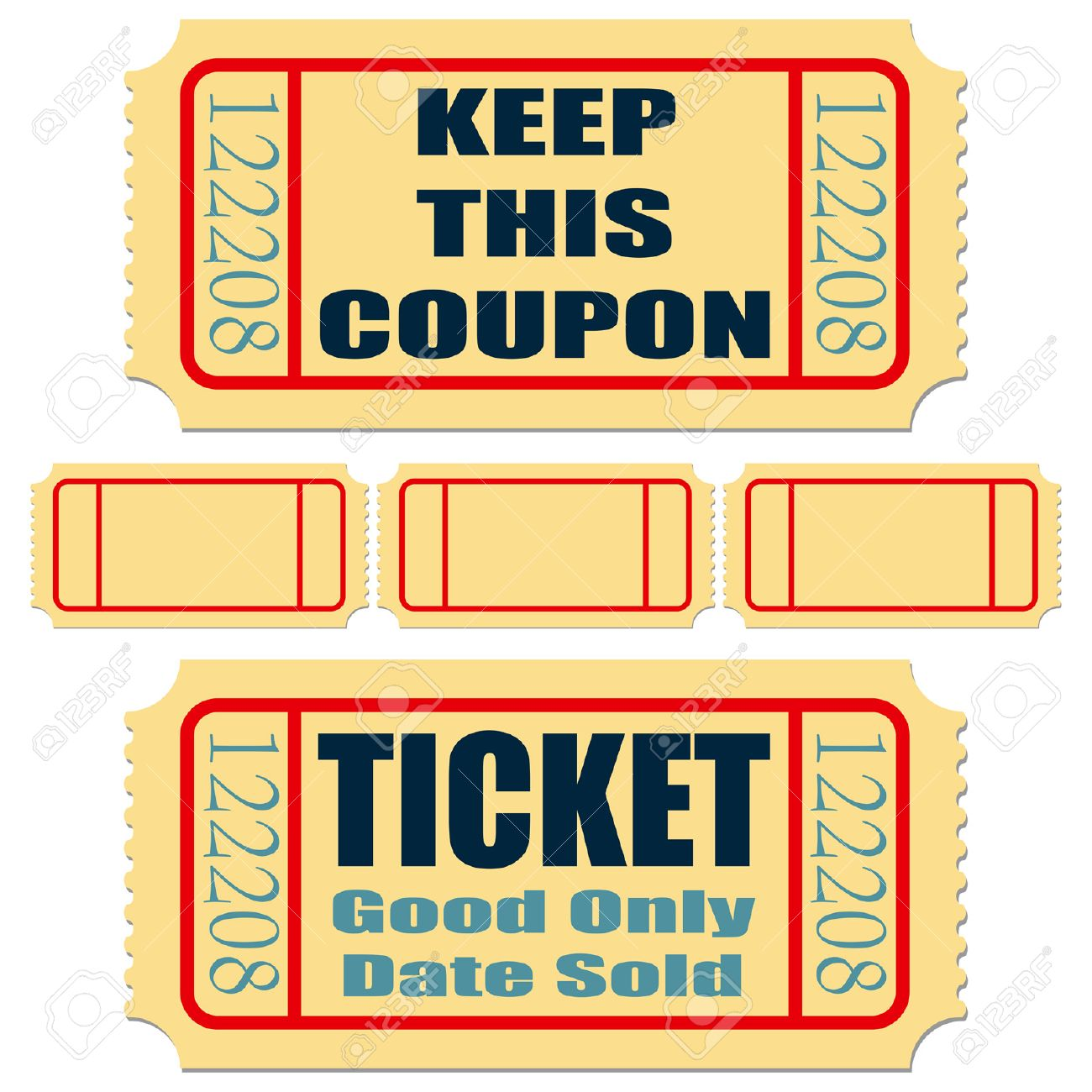 Movie Ticket Template For Word Ms Word Ticket Template Concert – Movie Ticket Template for Word