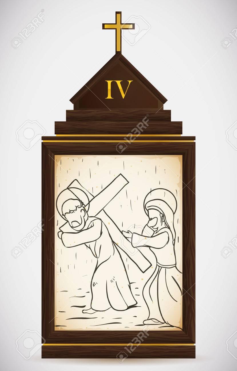 Vía Crucis, La Cuarta Estación: Jesús Encuentra A Su Madre Y Ella Lo ...