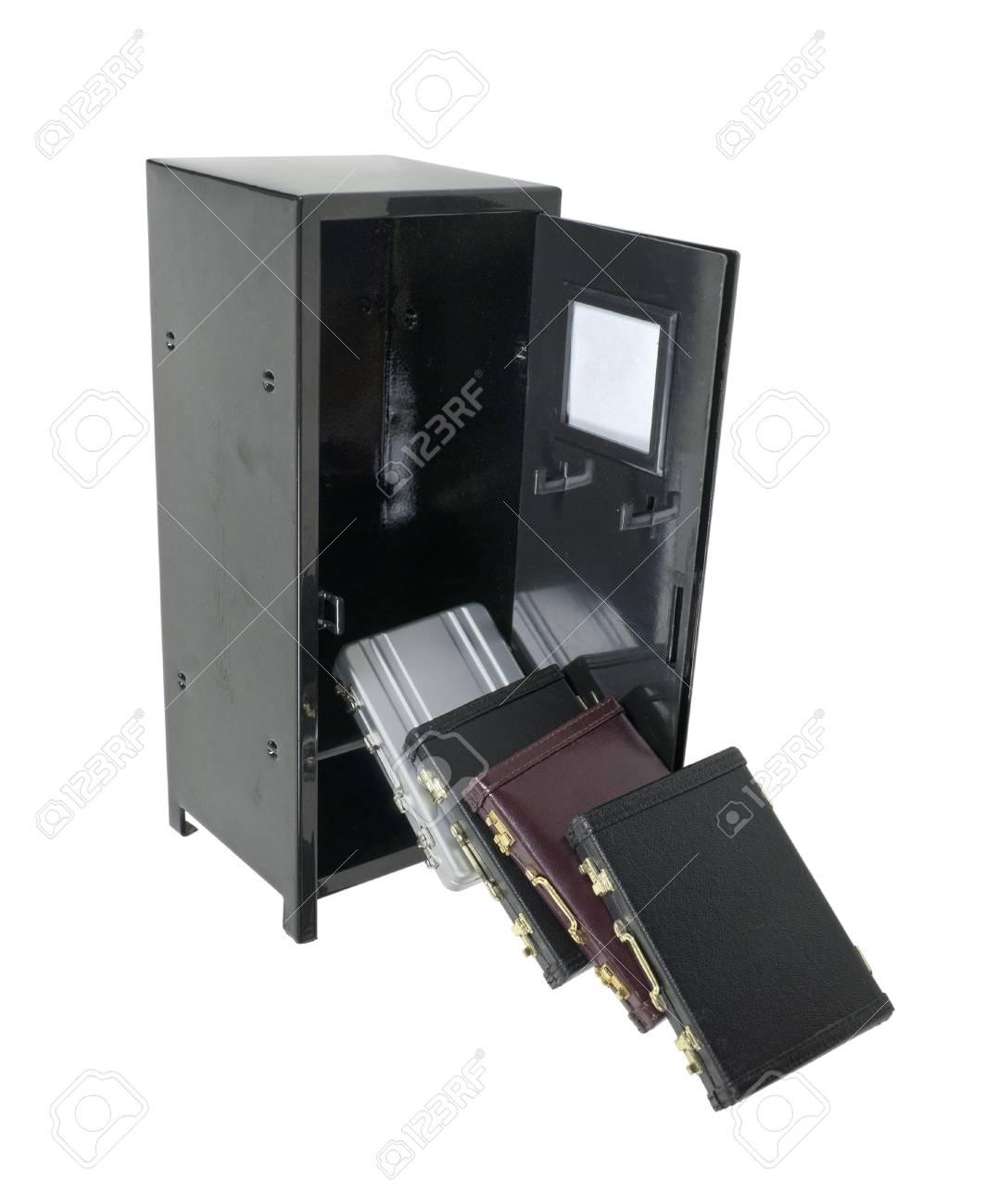 Porte Documents En Cuir Utilise Pour Transporter Des Articles Au