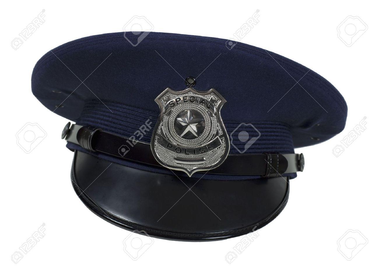 Banque d images - Insigne en argent de police spéciale avec une étoile sur  un large bonnet - chemin d accès inclus 72e39d6fcd1