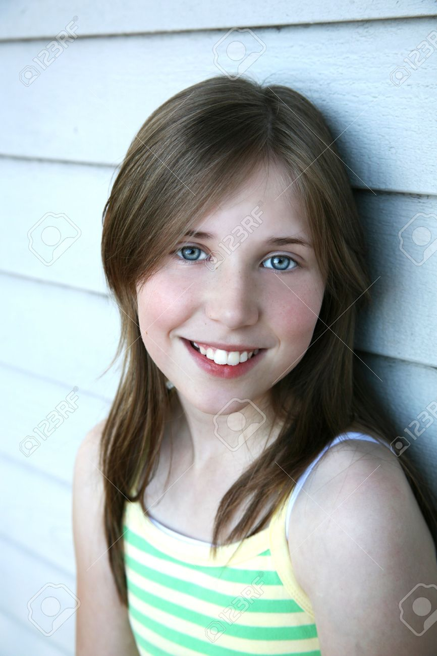 Beautiful Tween Girl