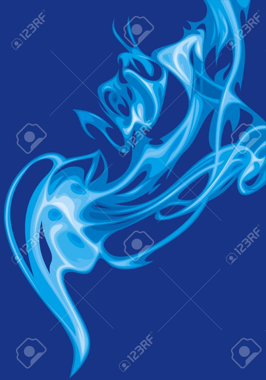 blue background Stock Vector - 20778082