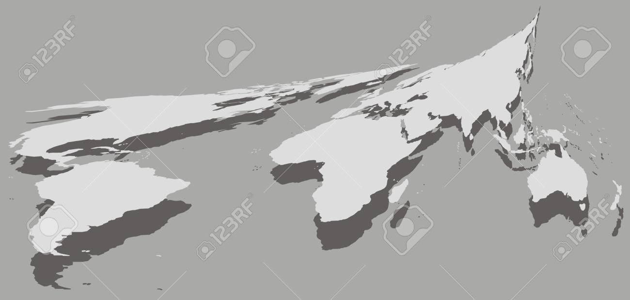 World map isolated on the grey background royalty free cliparts vector world map isolated on the grey background gumiabroncs Image collections