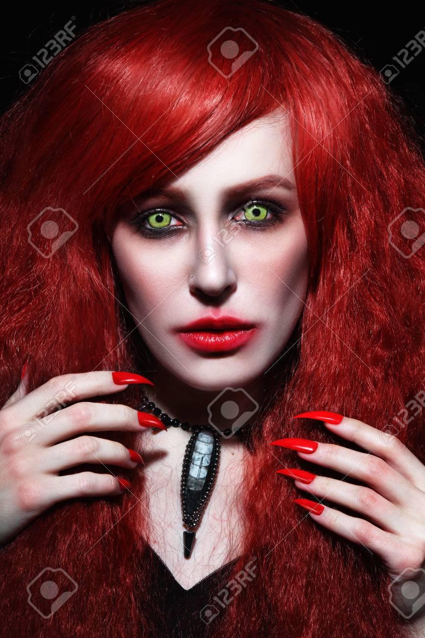 Redhead Halloween