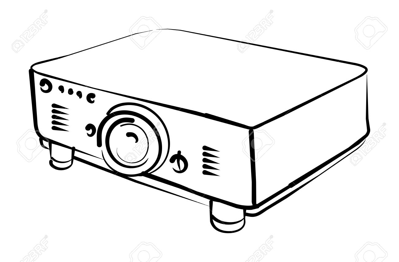 projector royalty free cliparts vectors and stock illustration rh 123rf com projector clipart pictures video projector clipart
