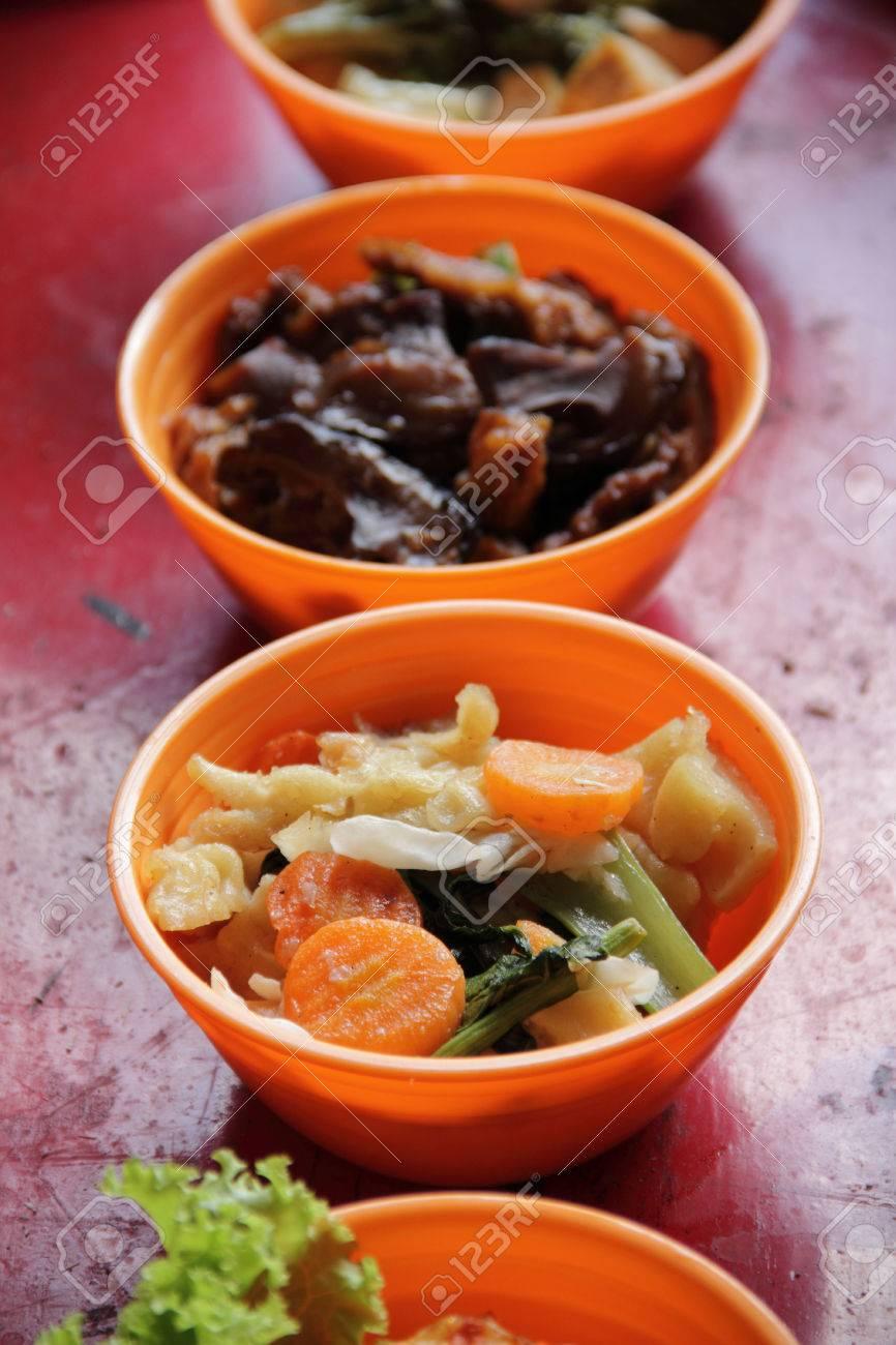 Traditionelle Chinesische Küche. Close Up Von Chop Suey ...