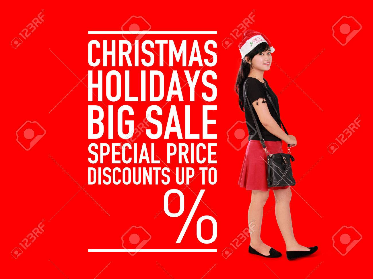 Christmas Images Free For Commercial Use.Christmas Holidays Big Sale Design For Commercial Use With Empty