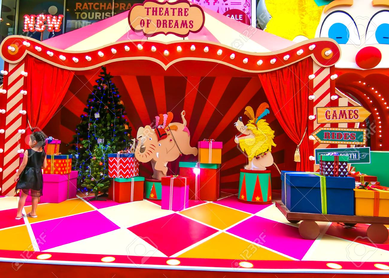 Carnival Of Christmas In Dreams Theme
