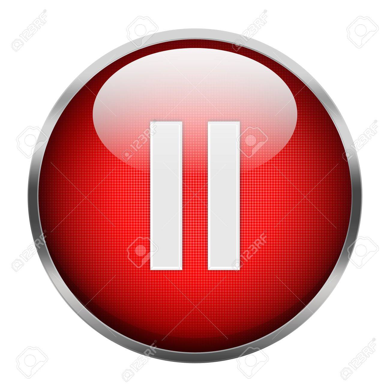 pause button isolated stock photo picture and royalty free image