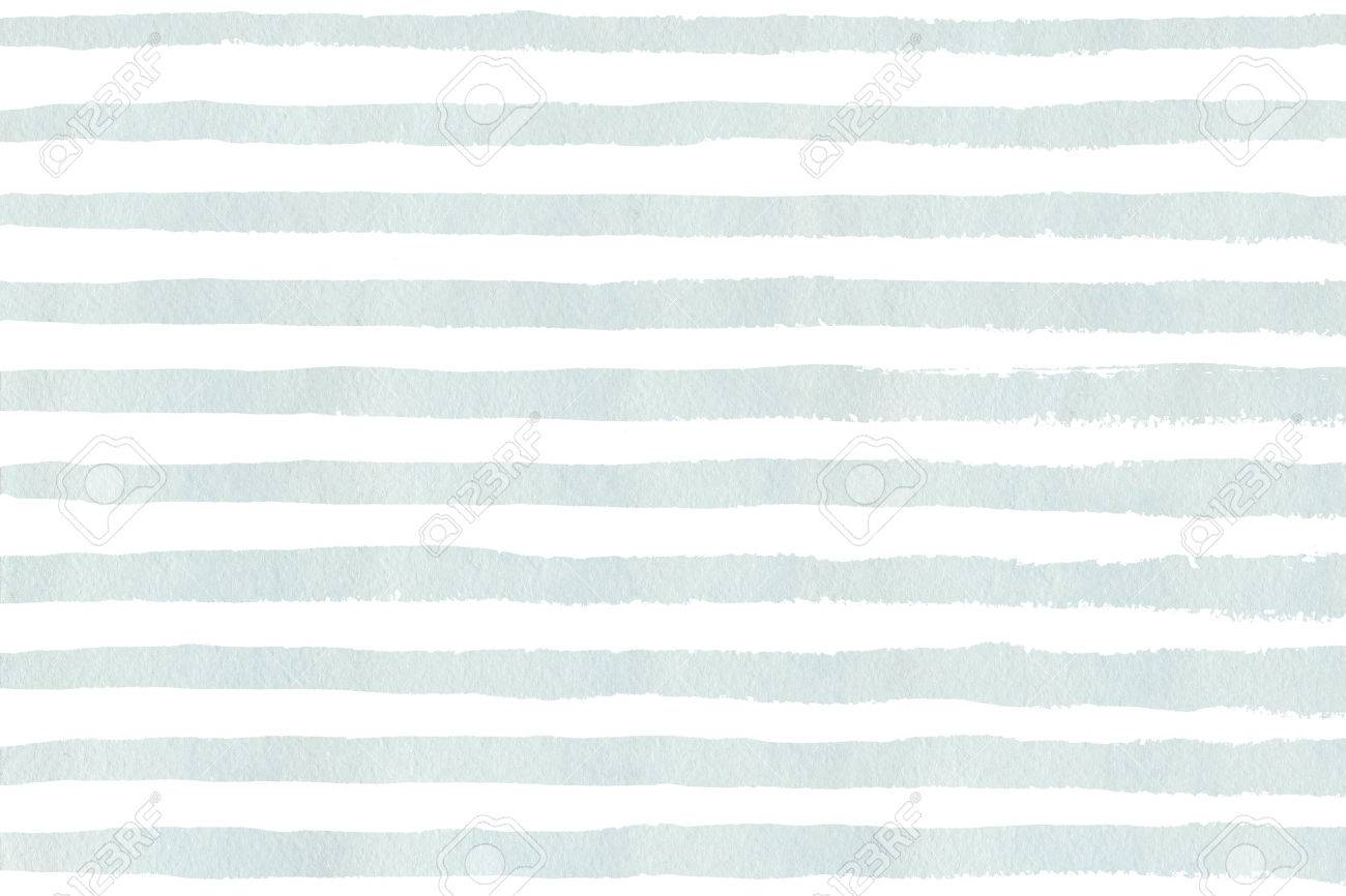 Blue Grunge Light Stripe Watercolor Blue PatternAbstract UVSMpz