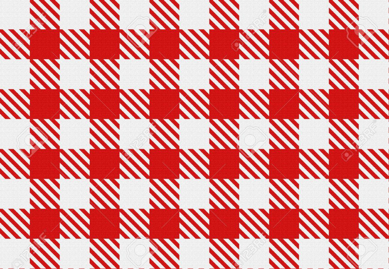 Classic Checked Red And White Texture. Red Gingham Check Pattern For  Tablecloths, Napkins,
