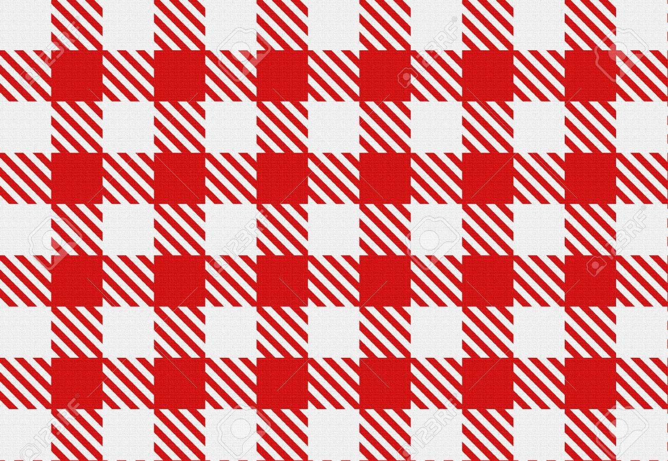 Vérifier La Texture Classique Rouge Et Blanc Motif à Carreaux Vichy Rouge Pour Les Nappes Serviettes Rideaux Décoration De La Maison Les Arts
