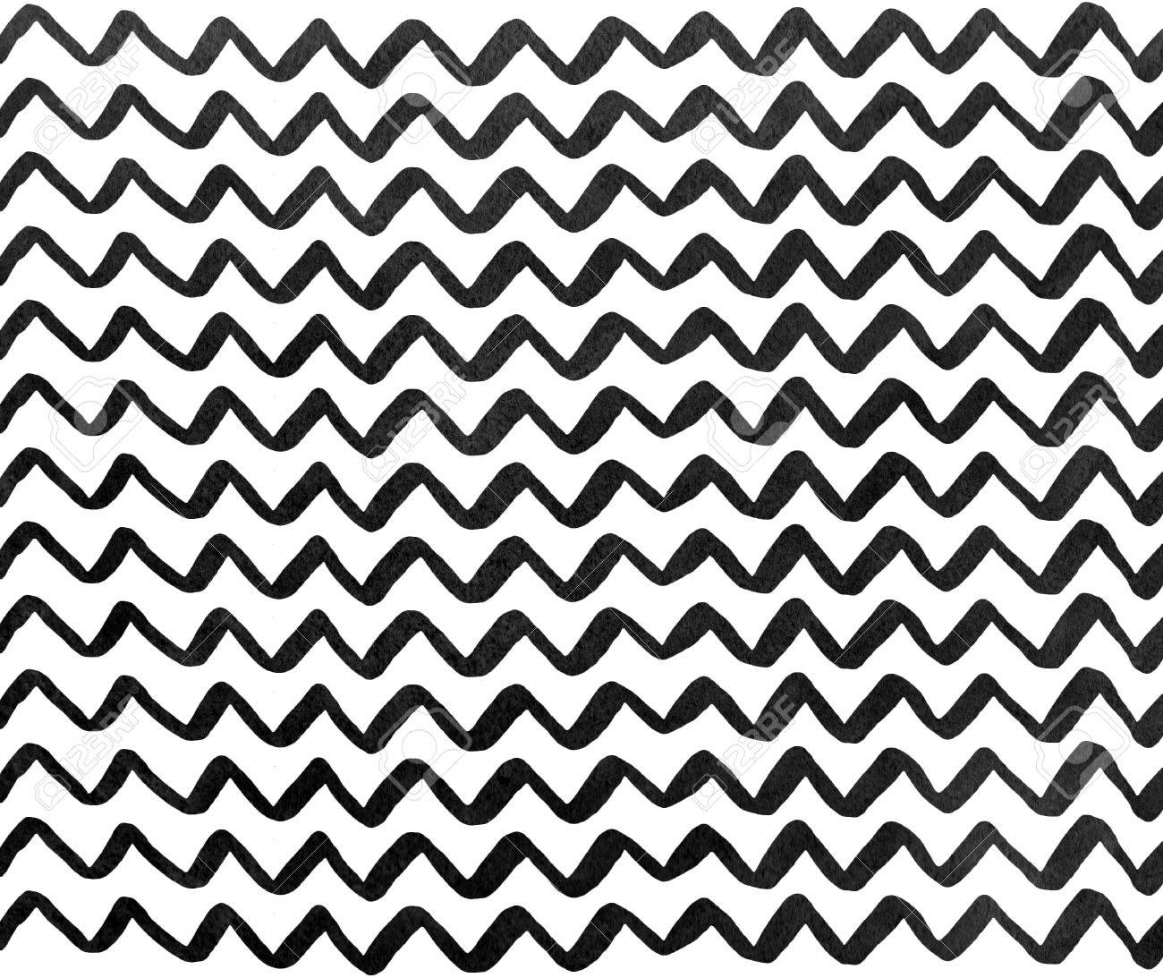 watercolor black hand painted stripes pattern chevron stock photo Cool Blue Chevron Background stock photo watercolor black hand painted stripes pattern chevron