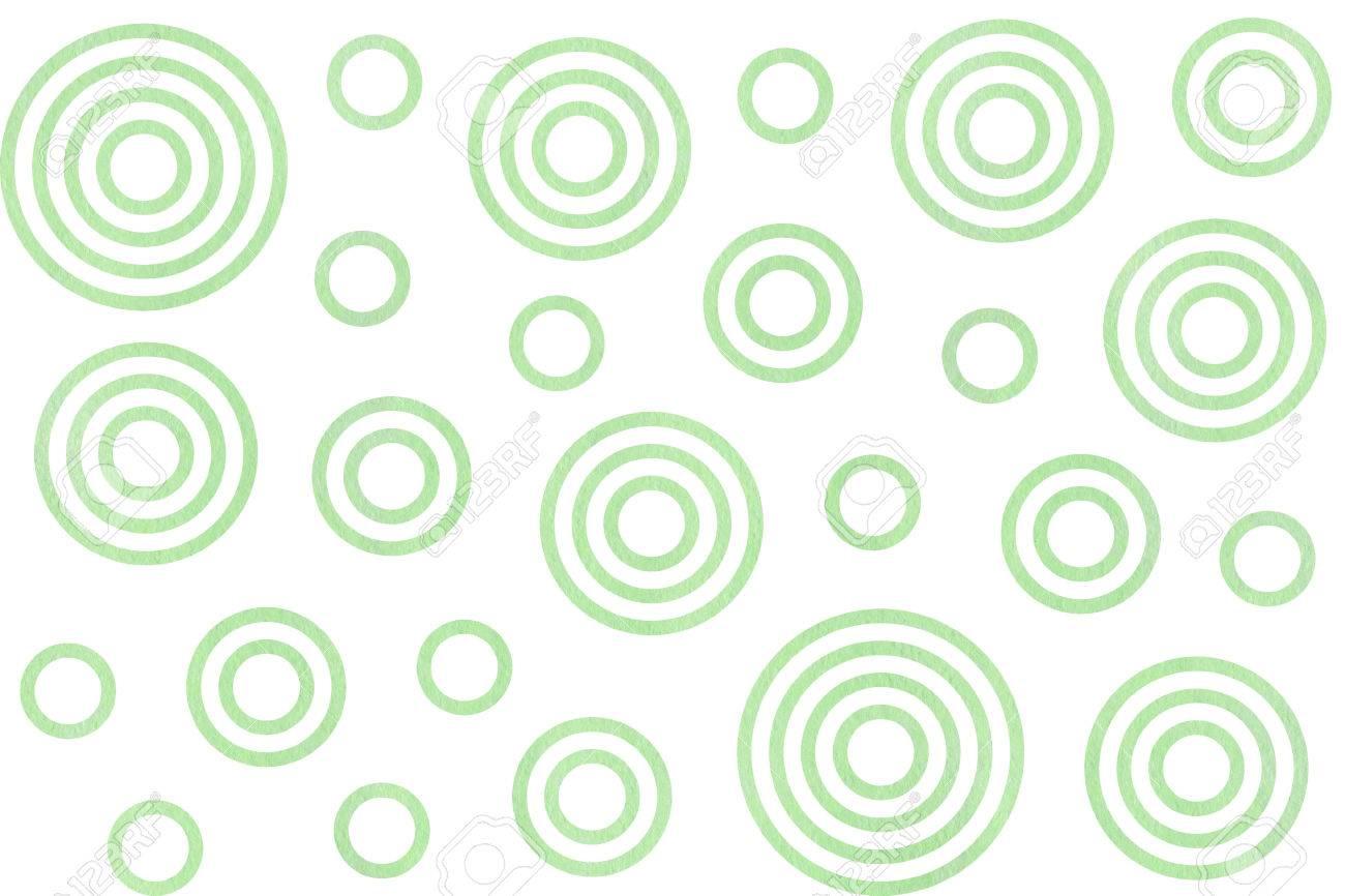 Fondo circulos verdes