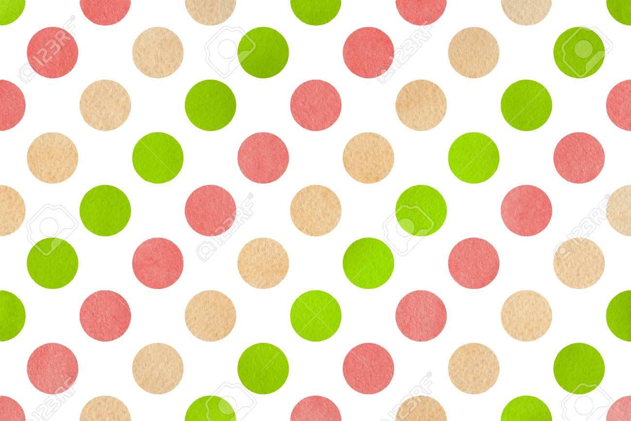 Pink And Green Polka Dot Backgrounds Koranstickenco
