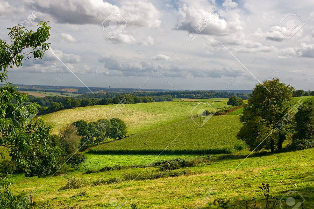 Typical landscape in Brittany Stock Photo - 7157314