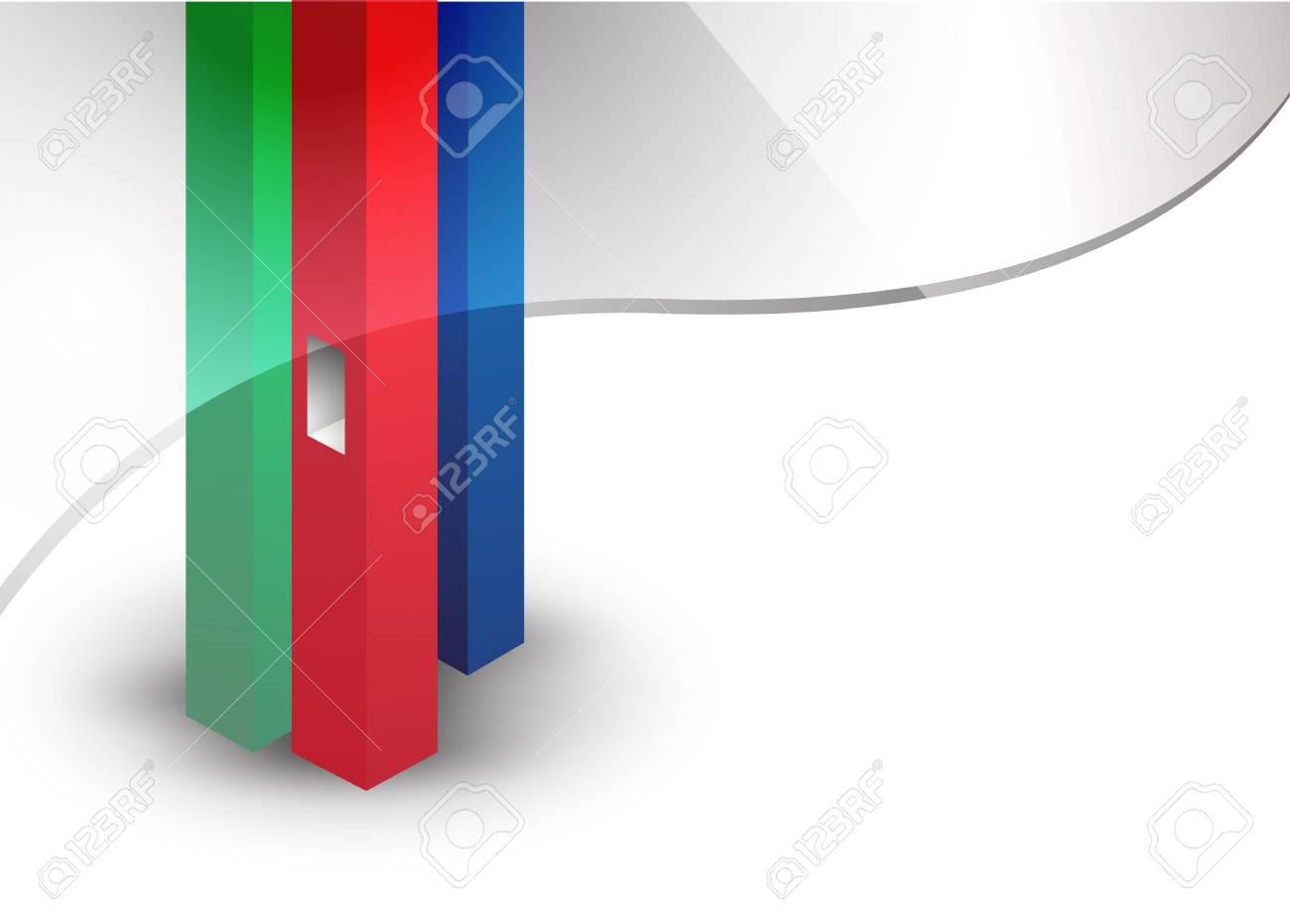 background posts Stock Vector - 12106920