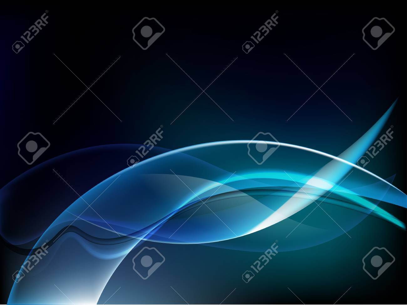 abstract background luminescence wave Stock Vector - 13639376