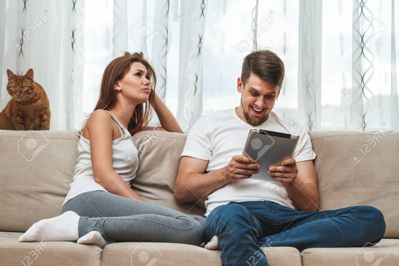 Wife Watches Husband With Another Man