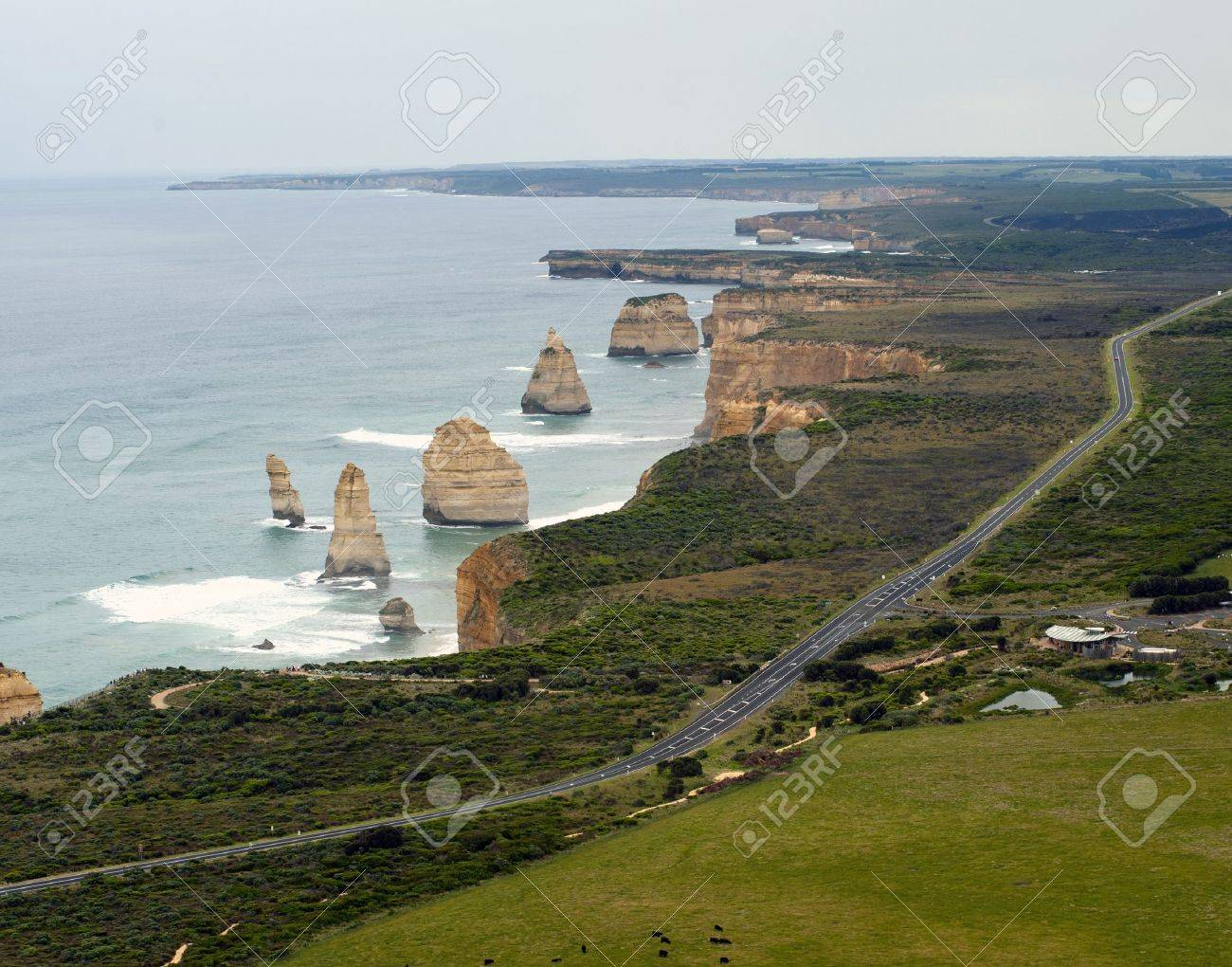 12 Apostles On the Great Ocean Road - Australia Stock Photo - 11993629