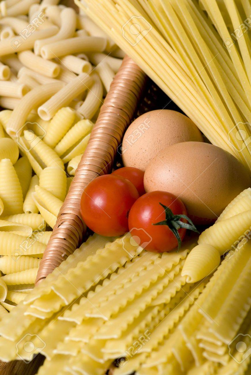 All the makings for a good pasta Stock Photo - 623847