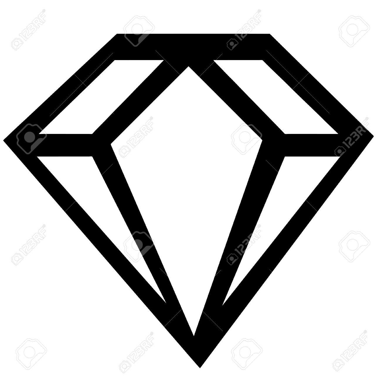 diamond sign Stock Vector - 4851867