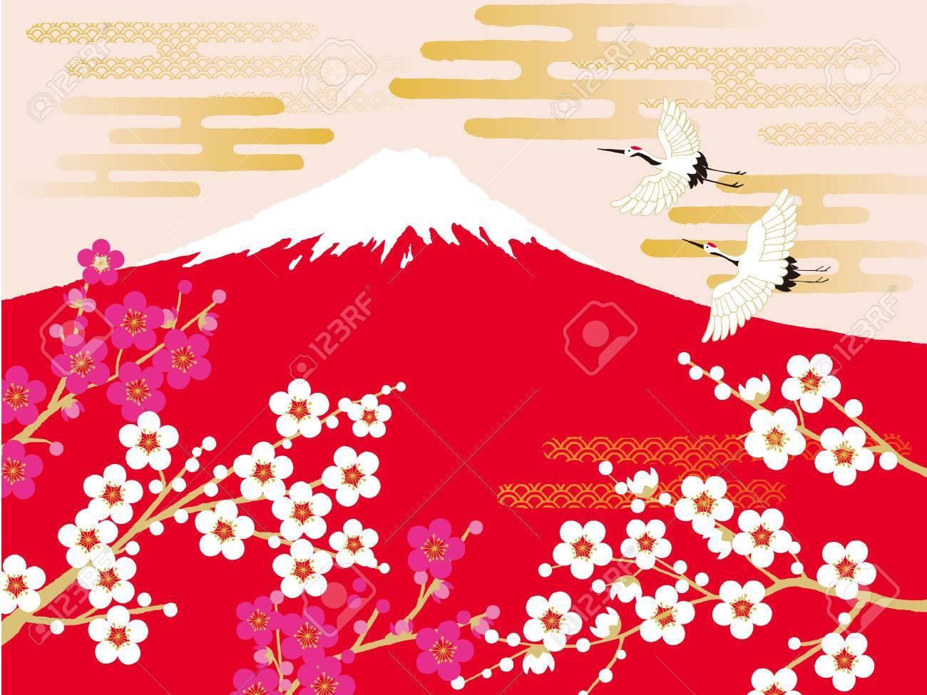 Crane, mt.fuji - 63386774