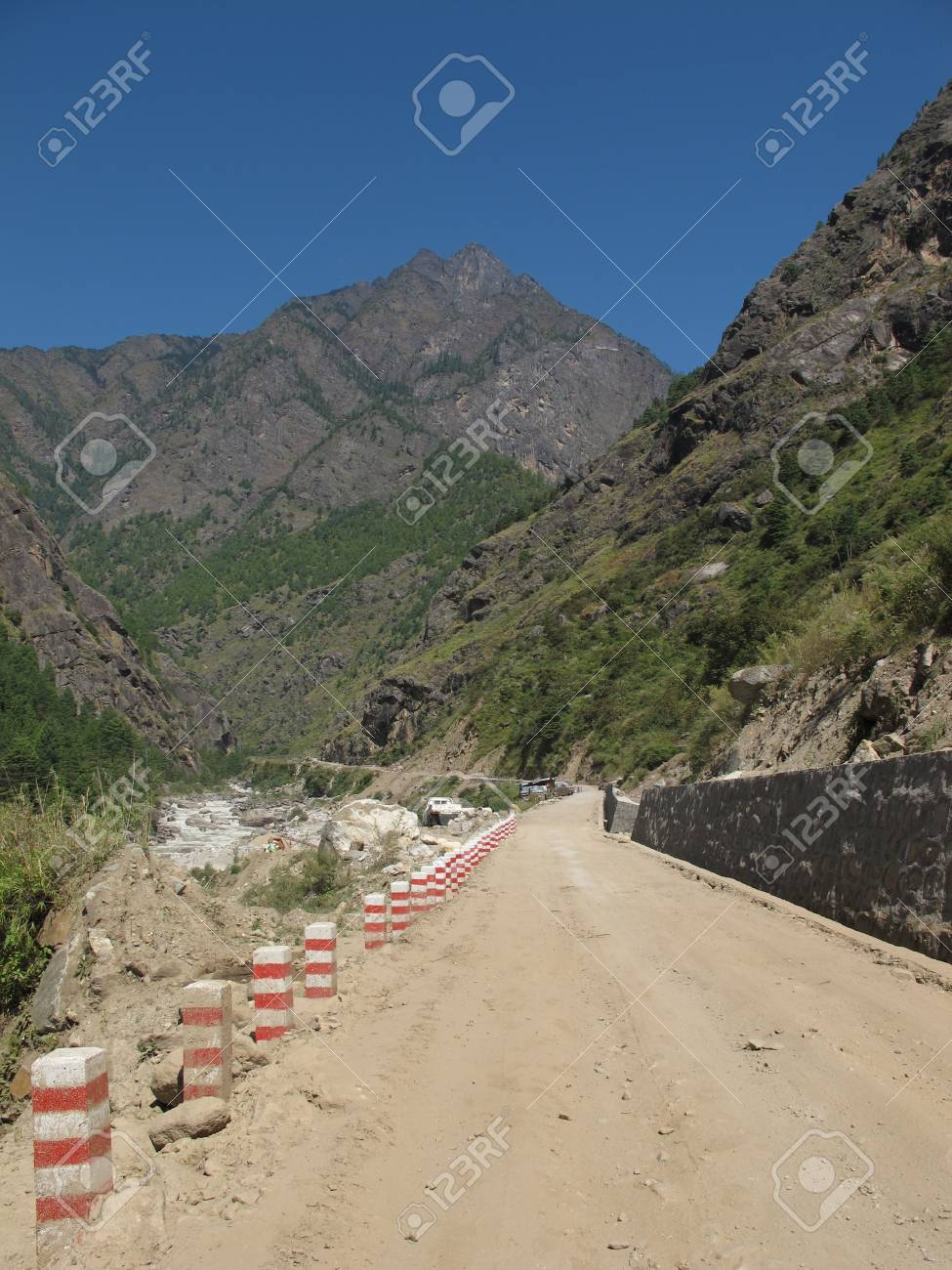 On the way to Tibet Stock Photo - 11512691