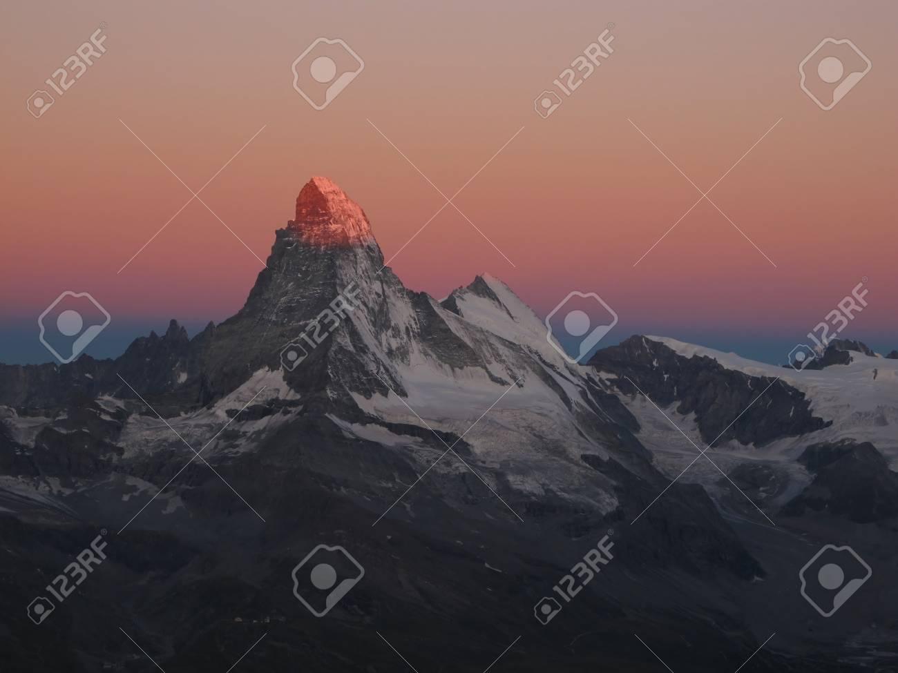 Sunrise In Zermatt Stock Photo - 15013994