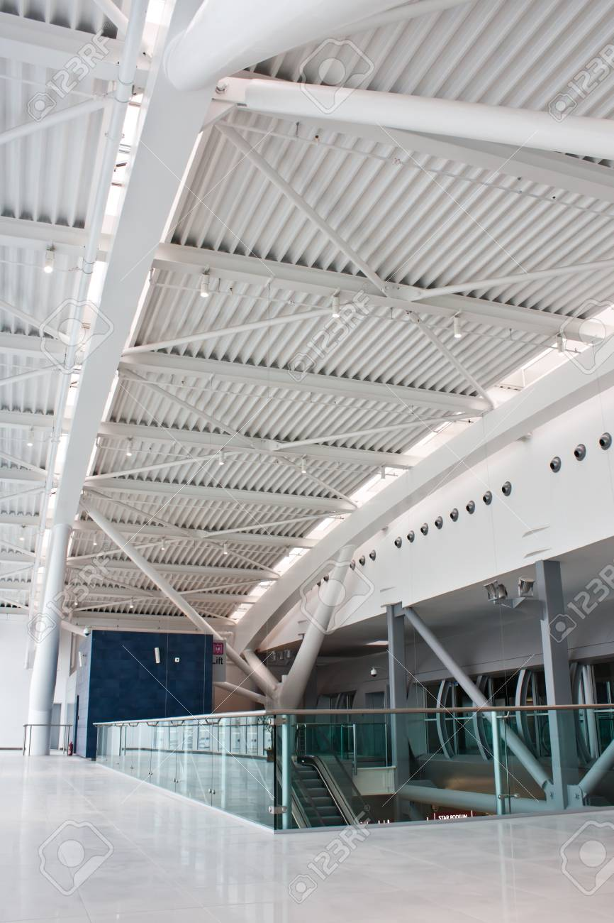 New euro60 million (US$84 million) second terminal at the capital's main airport Stock Photo - 9886705