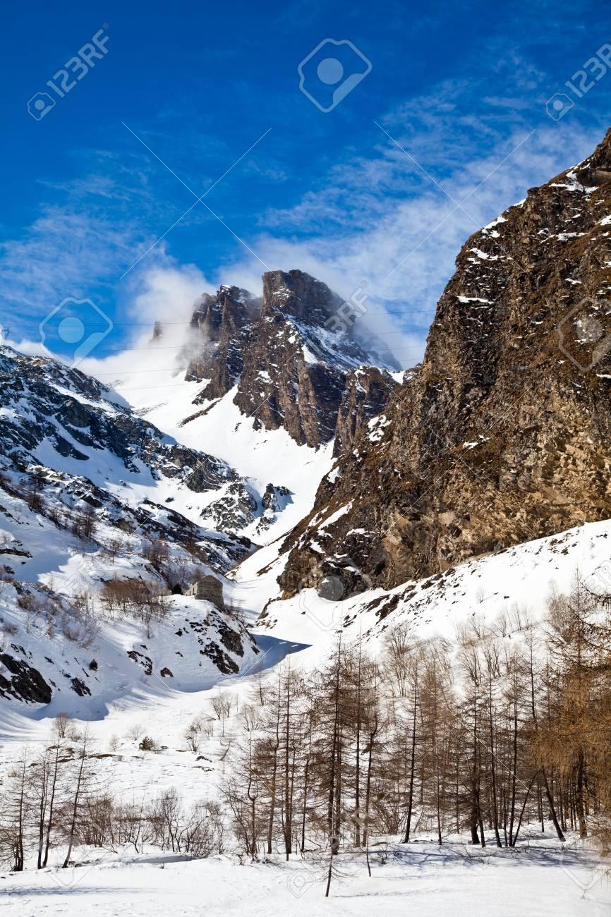 Beautiful colors on Alps close to Switzerland/Italian borders Stock Photo - 12850638