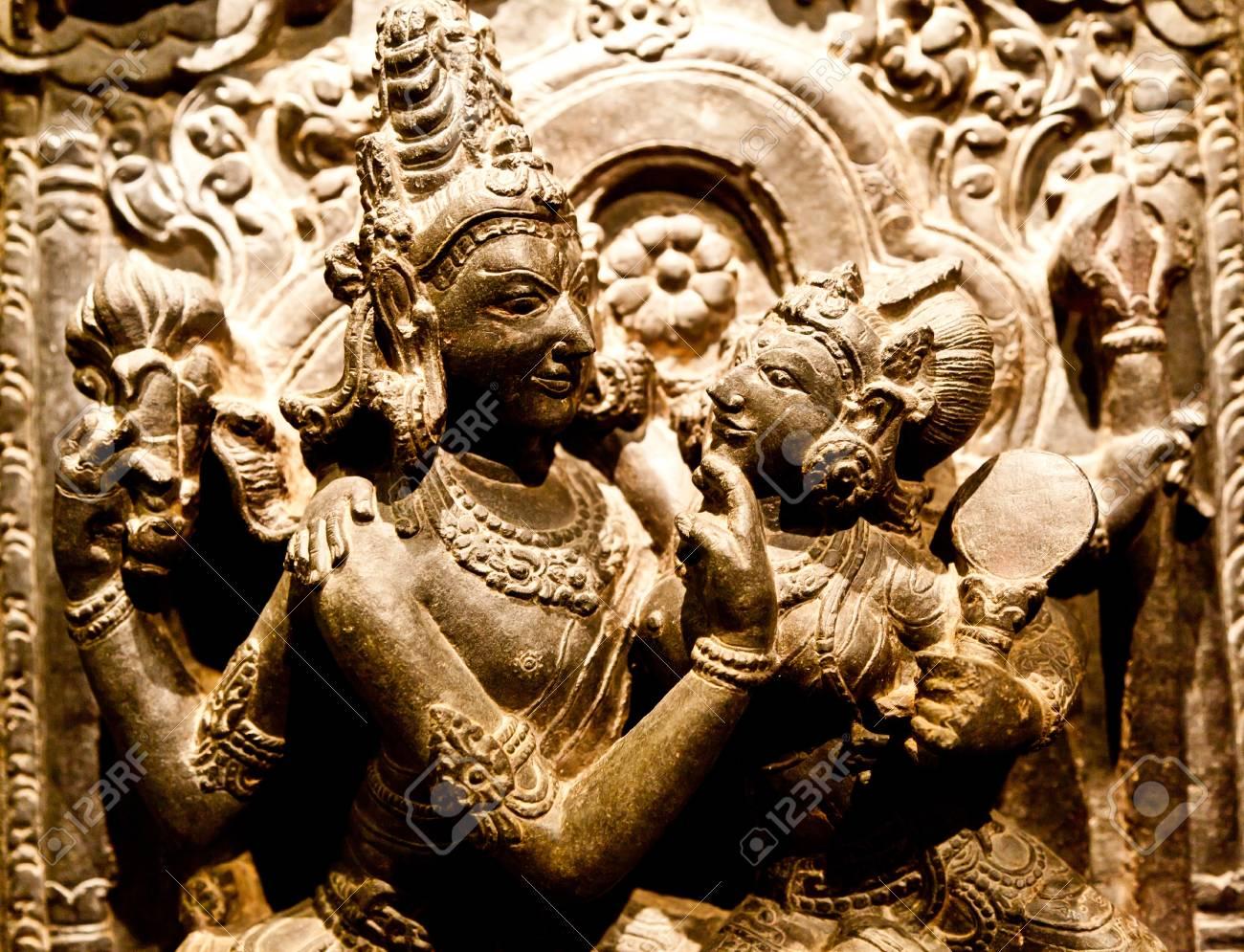North-East India, X Century A.D., Basalt Stock Photo - 14407677