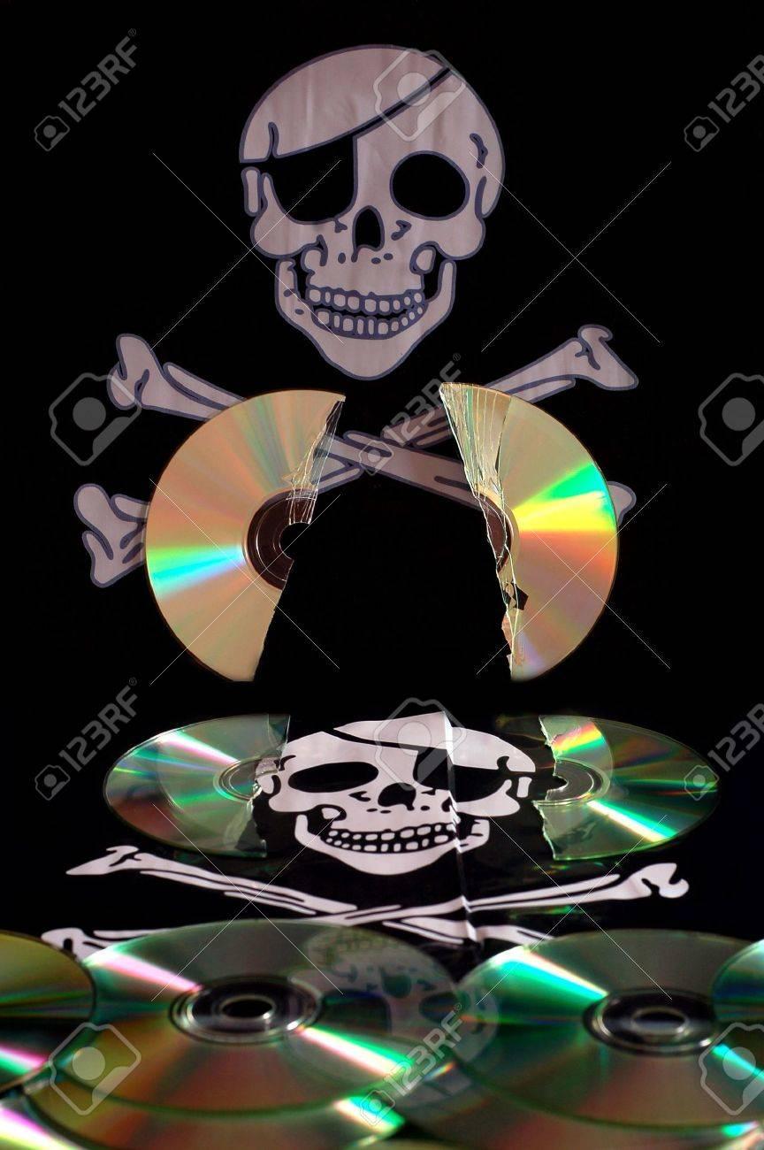 Software piracy Stock Photo - 2838770