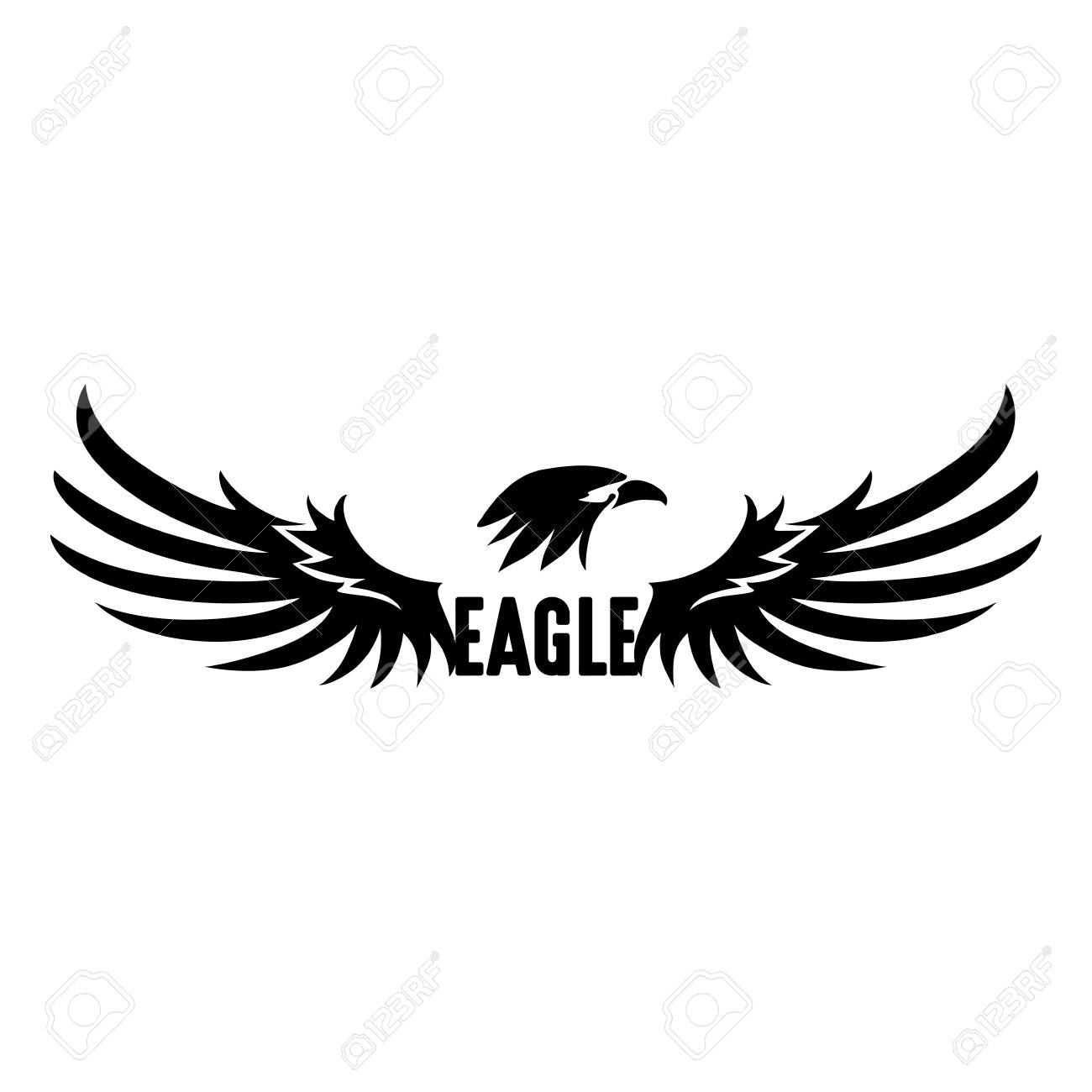 eagle logo vector free awesome graphic library