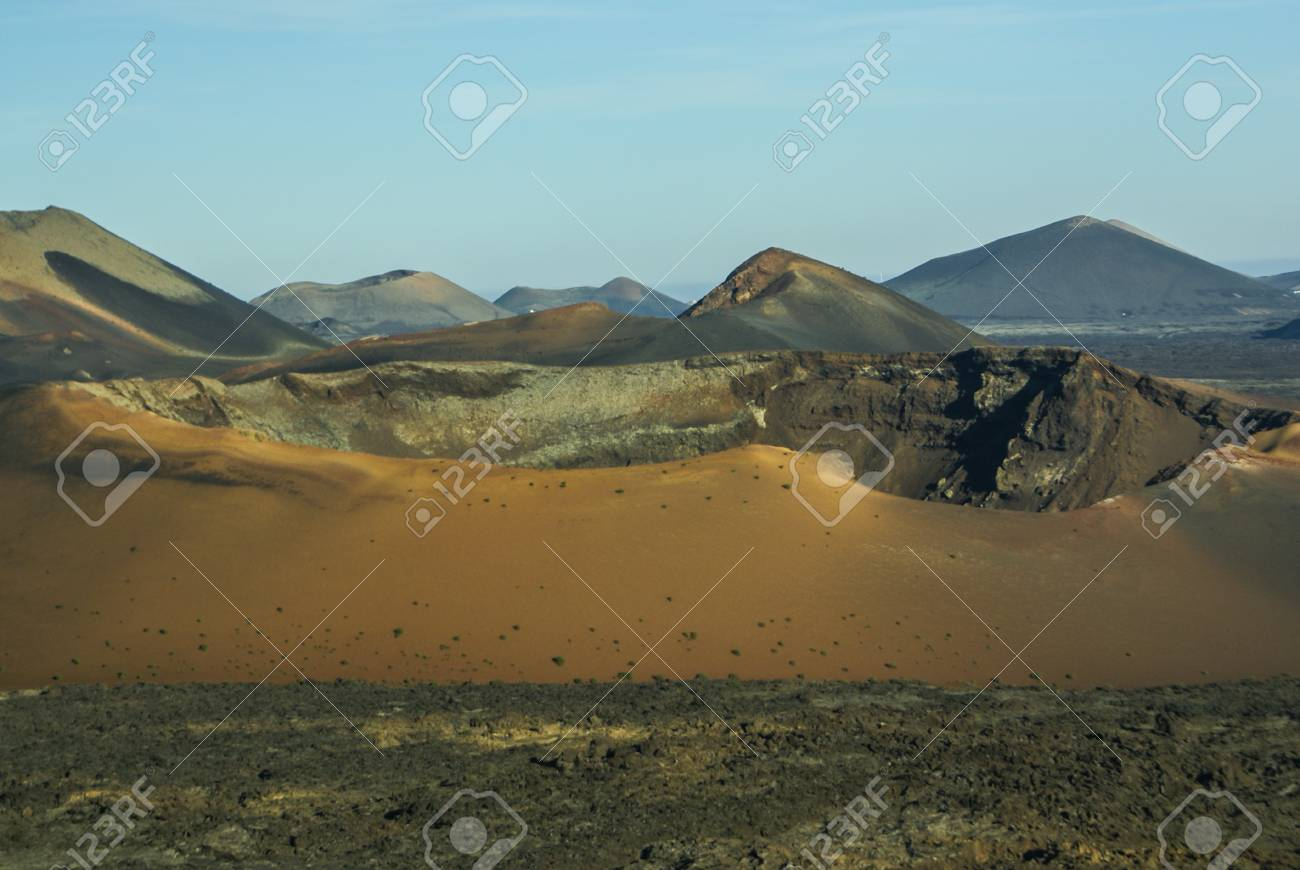 Mountains Of Fire Montanas Del Fuego Timanfaya National Park Stock Photo Picture And Royalty Free Image Image 26680204