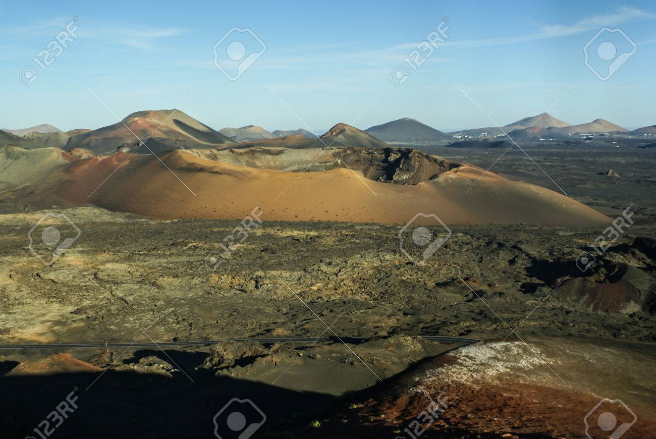 Mountains Of Fire Montanas Del Fuego Timanfaya National Park Stock Photo Picture And Royalty Free Image Image 26680205