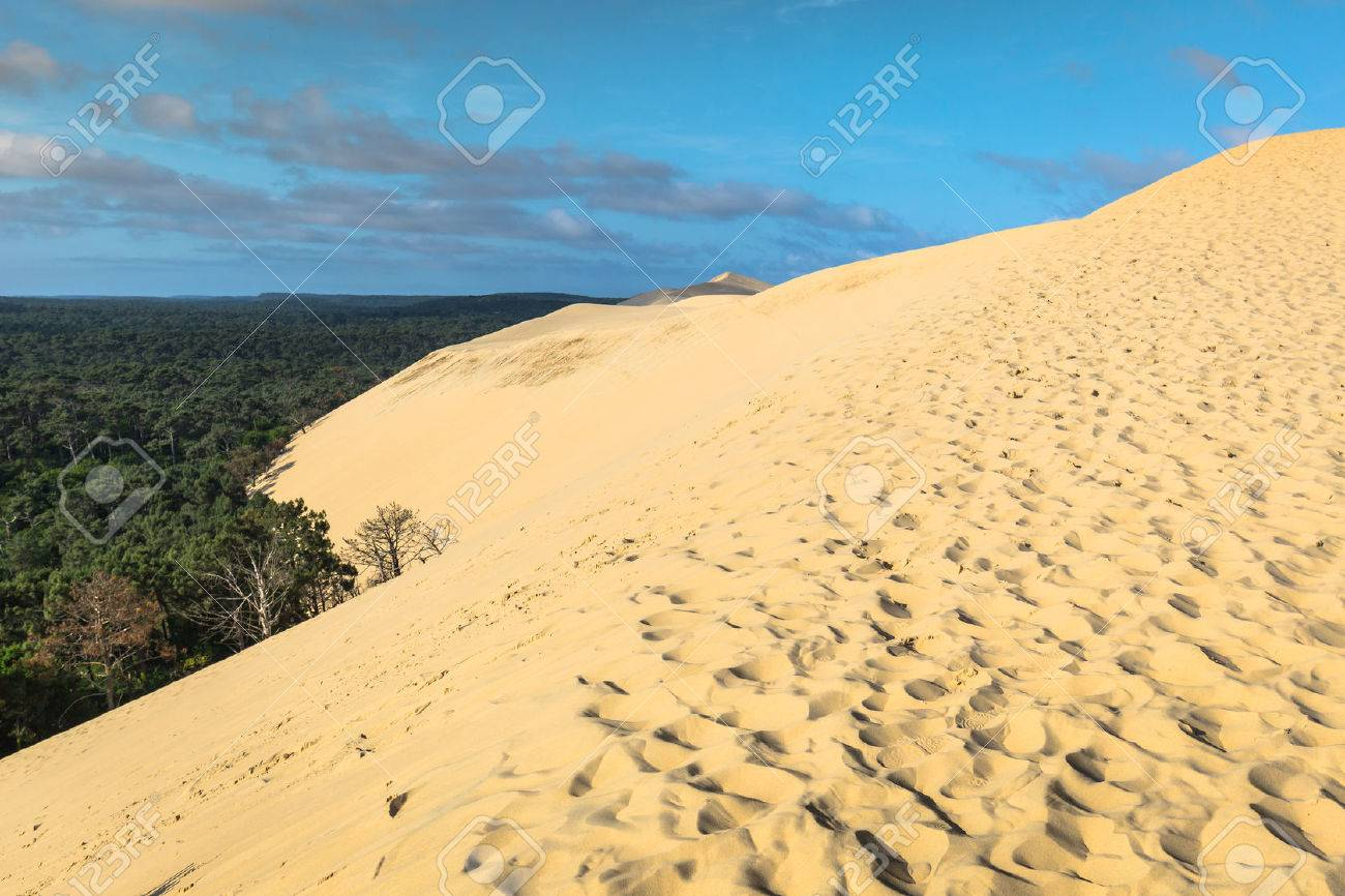 Great Dune Of Pyla The Tallest Sand Dune In Europe Arcachon