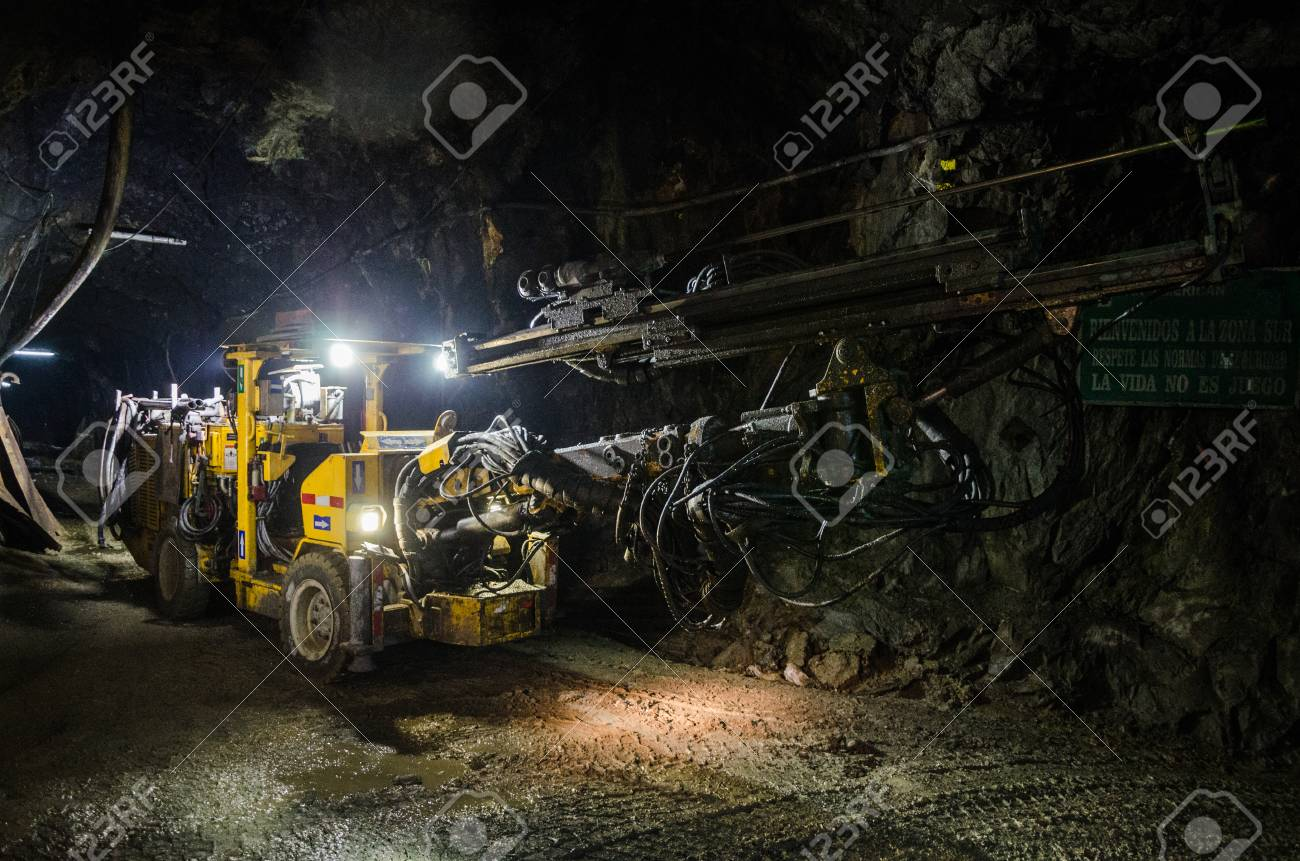 Large mine machine for the extraction of minerals - 95156866