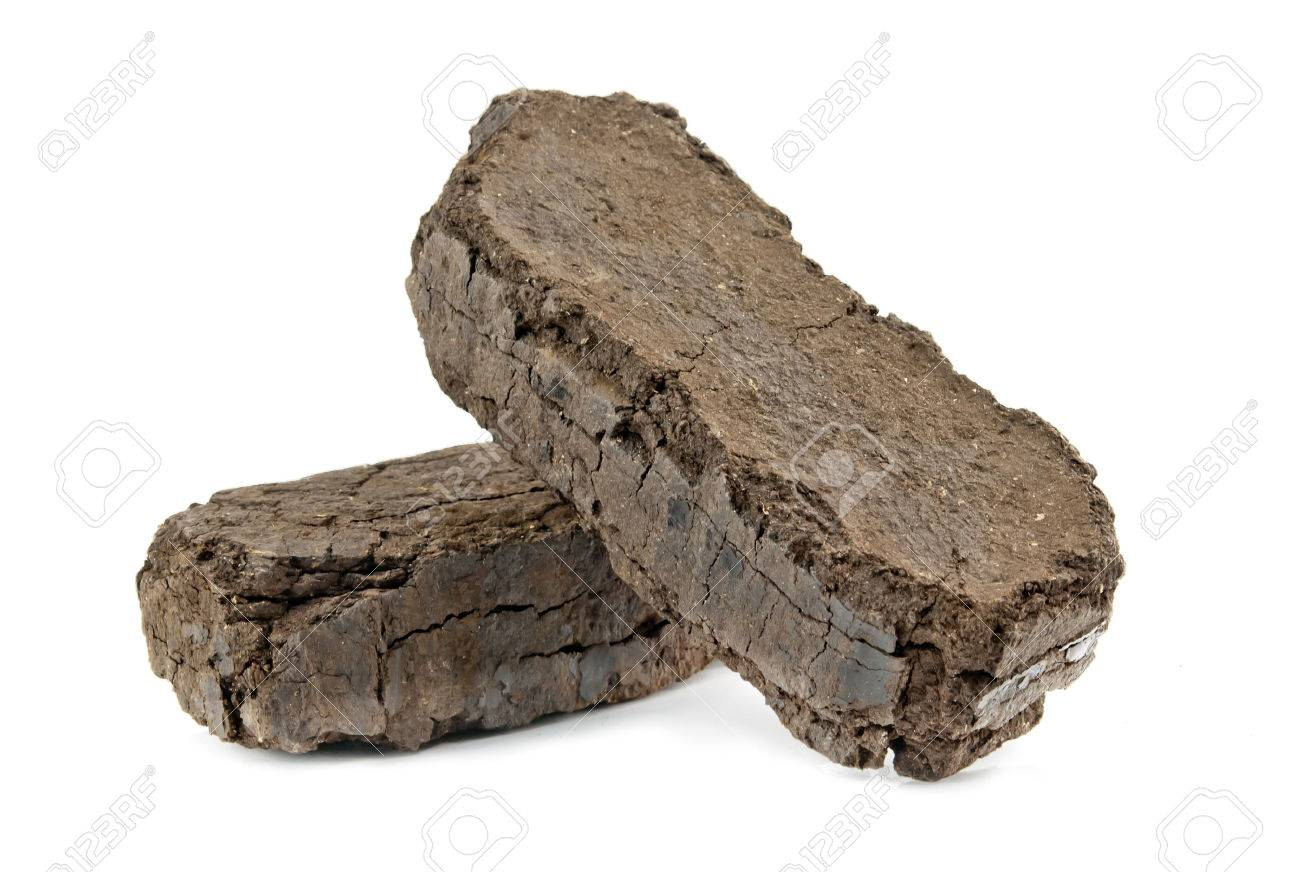 peat fuel blocks for use in an open fire - 23899814