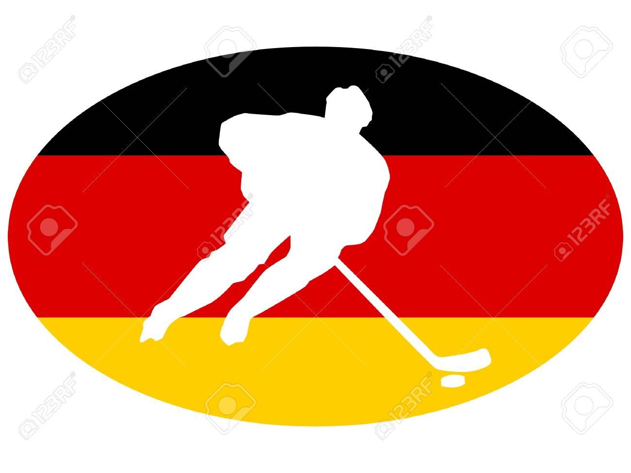 hockey colors of Germany Stock Vector - 11751441