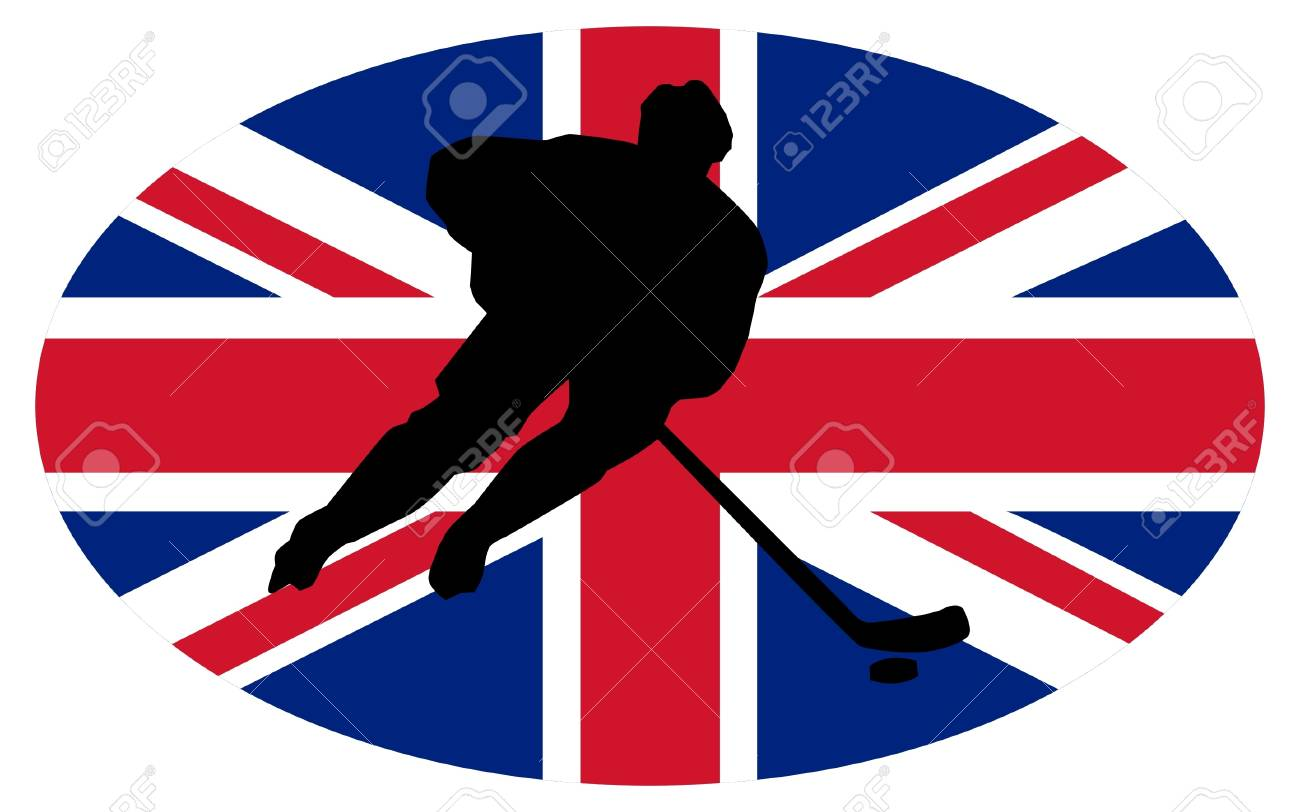 hockey colors of Great Britain Stock Vector - 11751415