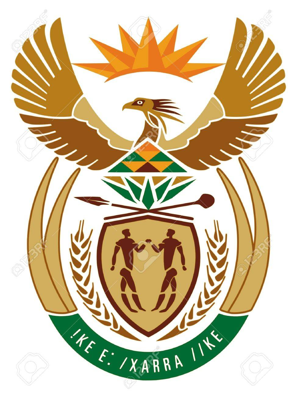 Coat of arms of South Africa Stock Vector - 11751327
