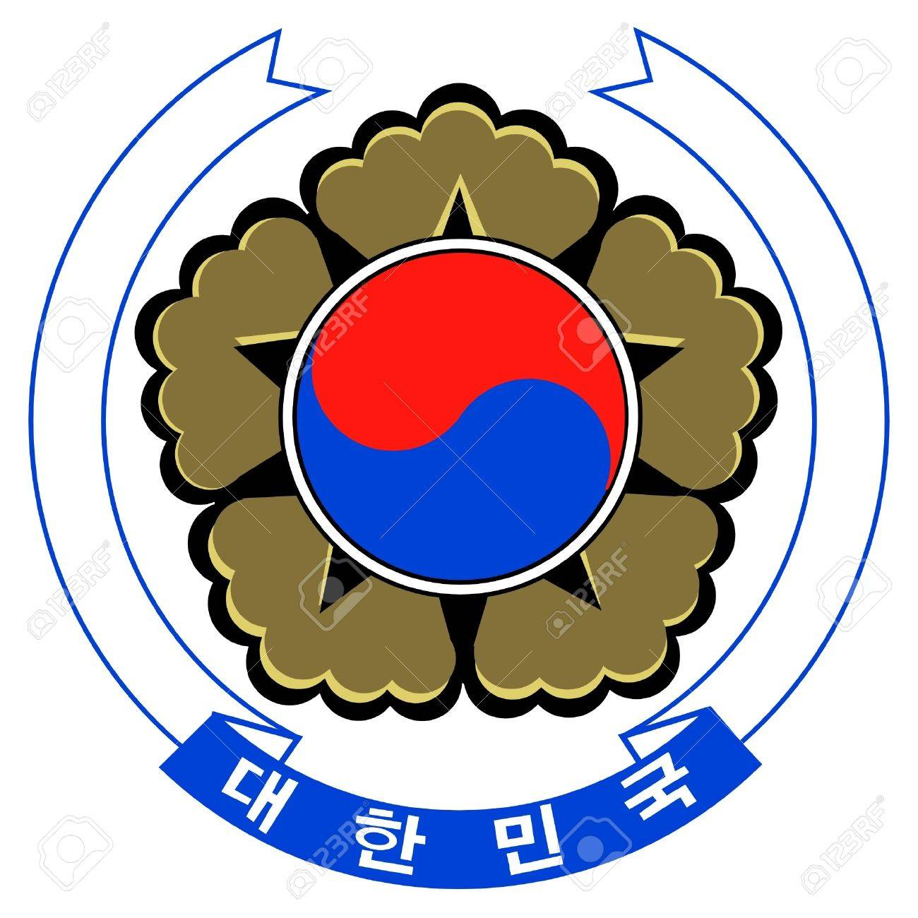 Coat of arms of South Korea Stock Vector - 11751394