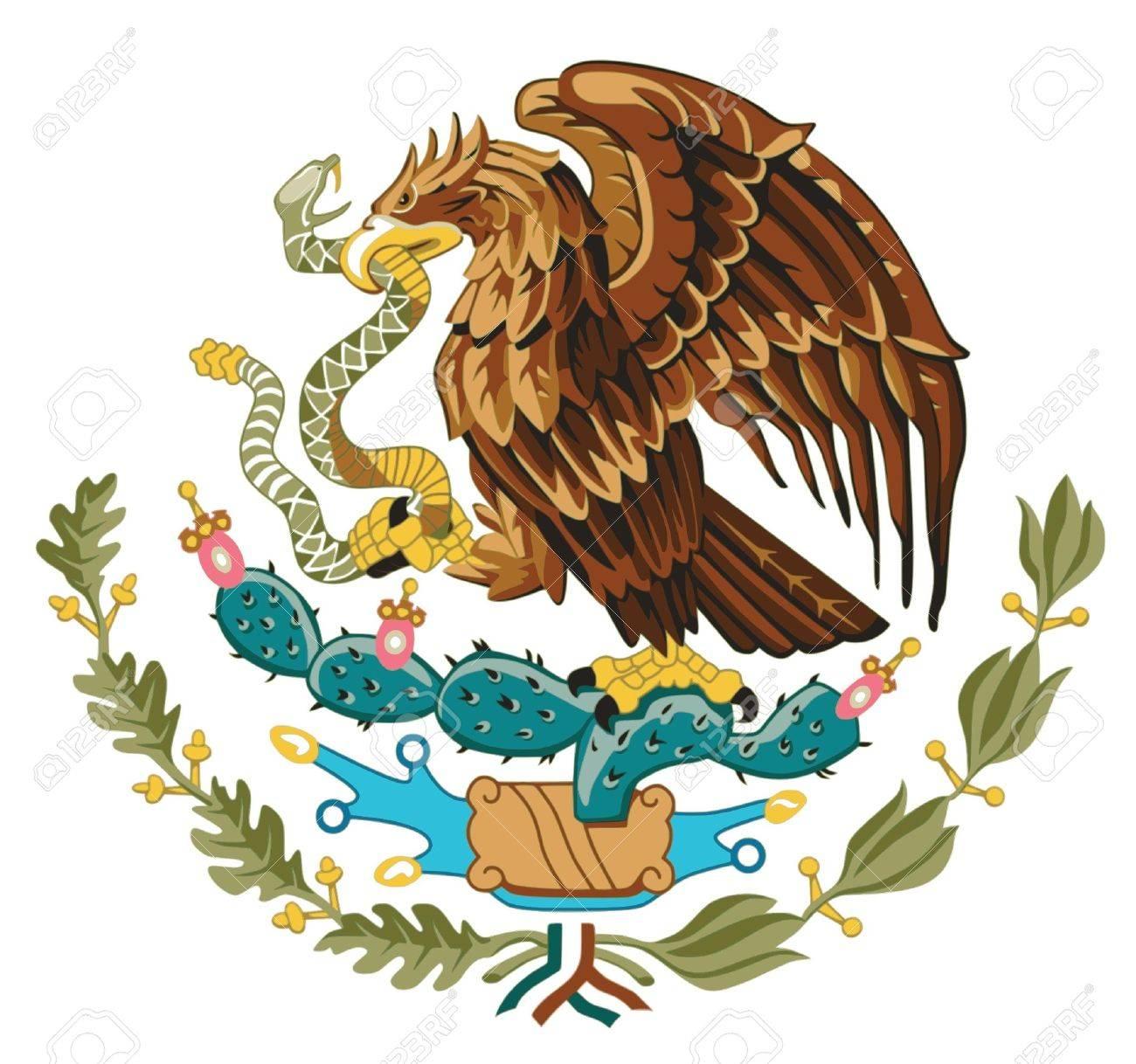 Coat of arms of Mexico Vector Mexico Country Vector